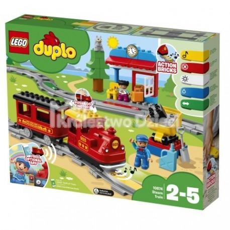 LEGO® - DUPLO® - POCIĄG PAROWY - 10874
