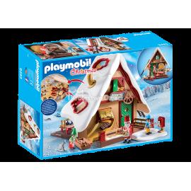 PLAYMOBIL - CHRISTMAS - ŚWIĄTECZNA PIEKARNIA Z FOREMKAMI NA CIASTECZKA - 9493
