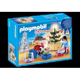 PLAYMOBIL - CHRISTMAS - SALON W ŚWIĄTECZNYM WYSTROJU - 9495