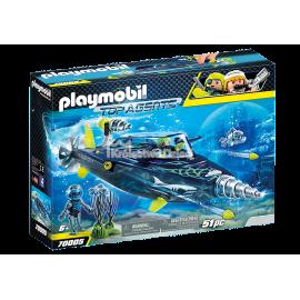 PLAYMOBIL - TOP AGENTS - TEAM SHARK - NISZCZYCIEL Z WIERTŁEM - 70005