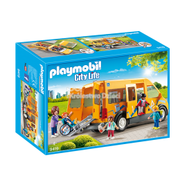 PLAYMOBIL - CITY LIFE - AUTOBUS SZKOLNY - 9419