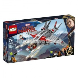 LEGO® - MARVEL SUPER HEROES - KAPITAN MARVEL I ATAK SKRULLÓW - 76127