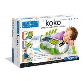 CLEMENTONI - KOKO - PROGRAMOWALNY ROBOT KROKODYL - 50108