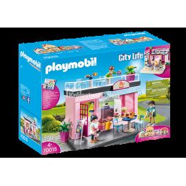 PLAYMOBIL - CITY LIFE - MOJA KAWIARNIA - 70015