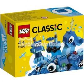 LEGO® - CLASSIC - NIEBIESKIE KLOCKI KREATYWNE - 11006