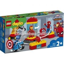 LEGO® - DUPLO® - MARVEL SUPER HEROES - LABORATORIUM SUPERBOHATERÓW - 10921