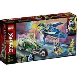 LEGO® - NINJAGO® - WYŚCIGÓWKA JAYA I LLOYDA - 71709