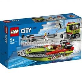 LEGO® - CITY - TRANSPORTER ŁODZI WYŚCIGOWEJ - 60254