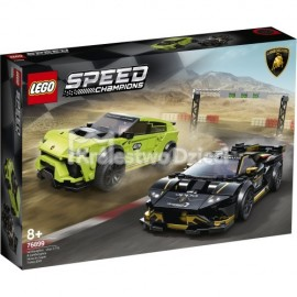 LEGO® - SPEED CHAMPIONS - LAMBORGHINI URUS ST-X I LAMBORGHINI HURACAN SUPER TROFEO EVO - 76899