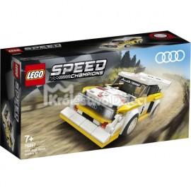LEGO® - SPEED CHAMPIONS - 1985 AUDI SPORT QUATTRO S1 - 76897