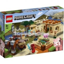 LEGO® - MINECRAFT™ - NAJAZD ZŁOSADNIKÓW - 21160