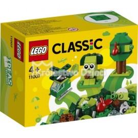 LEGO® - CLASSIC - ZIELONE KLOCKI KREATYWNE - 11007