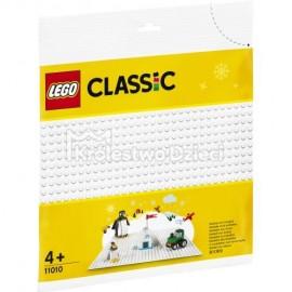 LEGO® - CLASSIC - BIAŁA PŁYTKA KONSTRUKCYJNA - 11010