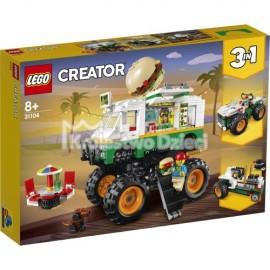 LEGO® - CREATOR - MONSTER TRUCK Z BURGERAMI - 31104