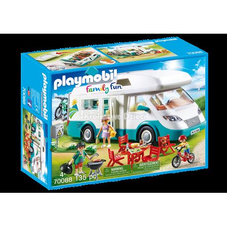 PLAYMOBIL - FAMILY FUN - RODZINNE AUTO KEMPINGOWE - 70088