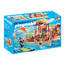 PLAYMOBIL - FAMILY FUN - SZKÓŁKA SPORTÓW WODNYCH - 70090