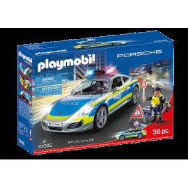 PLAYMOBIL - SPORTS & ACTION - PORSCHE 911 CARRERA 4S POLICJA - 70066