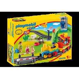 PLAYMOBIL - 123 - MOJA PIERWSZA KOLEJKA - 70179