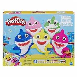 HASBRO - PLAY-DOH - MASA PLASTYCZNA - BABY SHARK - E8141