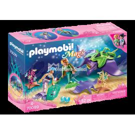 PLAYMOBIL - MAGIC - LAMPKA NOCNA - MUSZELKA - 70095