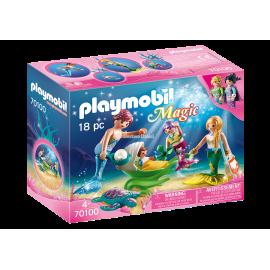 PLAYMOBIL - MAGIC - POSZUKIWACZE PEREŁ Z PŁASZCZKAMI - 70099