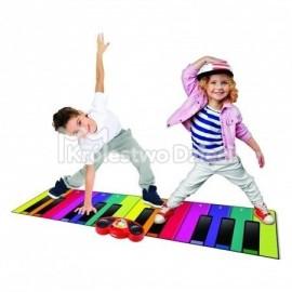 RAINBOW COLOURS - GIGANT PIANO MAT - MATA MUZYCZNA - 85336