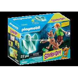 PLAYMOBIL - SCOOBY-DOO! - SCOOBY & SHAGGY Z DUCHEM - 70287