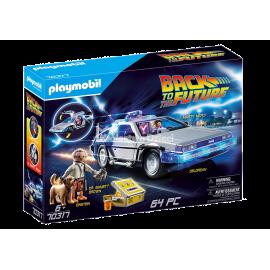 PLAYMOBIL - BACK TO THE FUTURE - POWRÓT DO PRZYSZŁOŚCI - DELOREAN - 70317