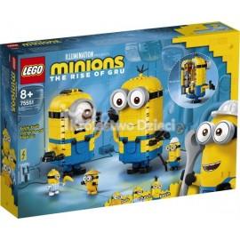 LEGO® - MINIONS - MINIONKI Z KLOCKÓW I ICH GNIAZDO - 75551