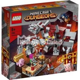 LEGO® - MINECRAFT™ - BITWA O CZERWONY KAMIEŃ - 21163