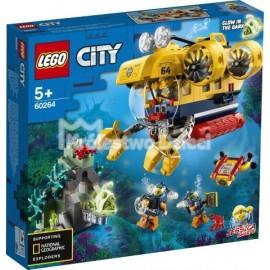 LEGO - CITY - ŁÓDŹ PODWODNA BADACZY OCEANU - 60264