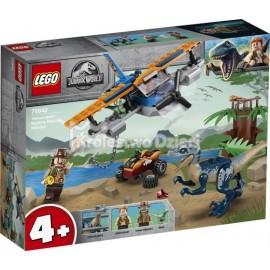 LEGO® - JURASSIC WORLD™ - WELOCIRAPTOR: NA RATUNEK DWUPŁATOWCEM - 75942