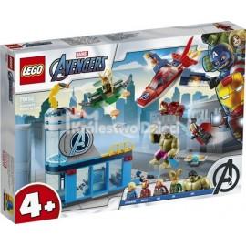 LEGO® - MARVEL AVENGERS - AVENGERSI - GNIEW LOKIEGO - 76152