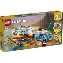 LEGO® - CREATOR - WAKACYJNY KEMPING Z RODZINĄ - 31108
