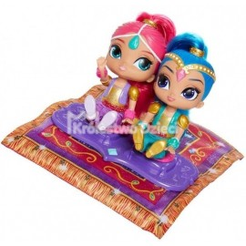 FISHER PRICE - SHIMMER & SHINE - MAGICZNY DYWAN + 2 LALKI - FHN24