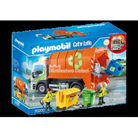 PLAYMOBIL - CITY LIFE - ŚMIECIARKA - 70200