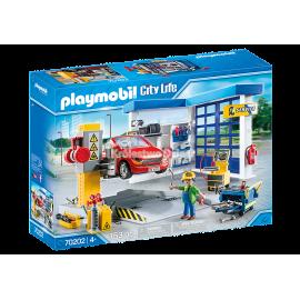 PLAYMOBIL - CITY LIFE - WARSZTAT SAMOCHODOWY - 70202