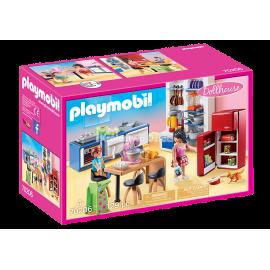 PLAYMOBIL - DOLLHOUSE - RODZINNA KUCHNIA - 70206