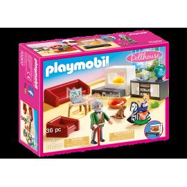 PLAYMOBIL - DOLLHOUSE - PRZYTULNY SALON - 70207