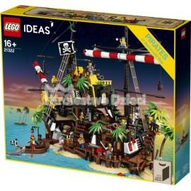 LEGO® - IDEAS -  PIRACI Z ZATOKI BARAKUD - 21322