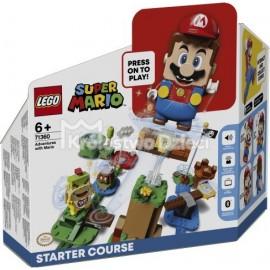 LEGO® - SUPER MARIO™ - PRZYGODY Z MARIO - ZESTAW STARTOWY - 71360