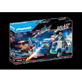 PLAYMOBIL - GALAXY POLICE - POJAZD POLICYJNY - 70018
