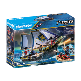PLAYMOBIL - PIRATES - STATEK ROTROCK - 70412