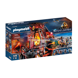 PLAYMOBIL - NOVELMORE - KOPALNIA WOJOWNIKÓW BURNHAM - 70390