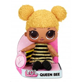L.O.L. SURPRISE - LOL NIESPODZIANKA - PLUSZOWA LALKA 35 CM - QUEEN BEE - 571292