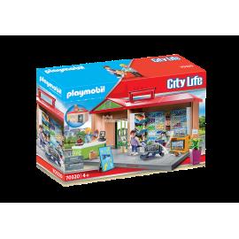 PLAYMOBIL - CITY LIFE - PRZENOŚNY SKLEP Z WARZYWAMI - 70320