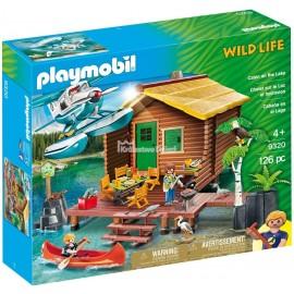 PLAYMOBIL - WILD LIFE - URLOP W DOMKU NAD JEZIOREM - 9320
