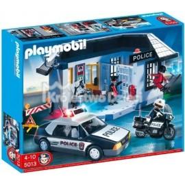 PLAYMOBIL - CITY ACTION - POSTERUNEK POLICJI Z WIĘZIENIEM - 5013