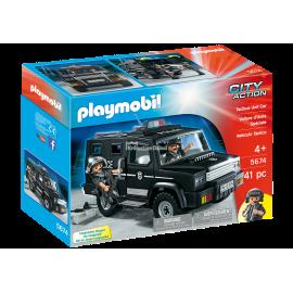 PLAYMOBIL - CITY ACTION - PRZENOŚNY KOMISARIAT POLICJI - 5689