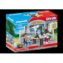 PLAYMOBIL - CITY LIFE - PLAY BOX WETERYNARZ - 70309